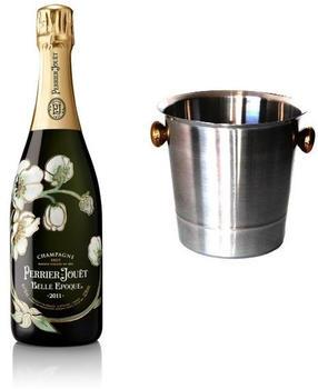 Perrier-Jouët La Belle Époque 0,75l + Champagner-Kühler silber
