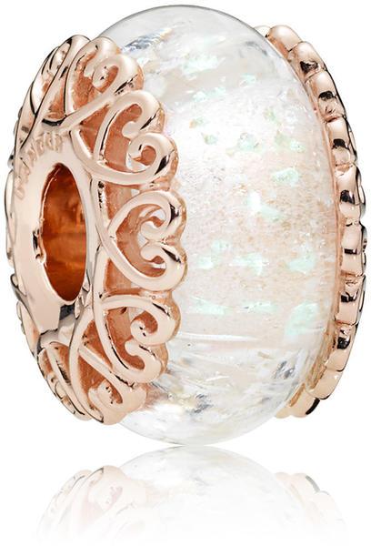 Pandora Iridescent White Glass (787576)