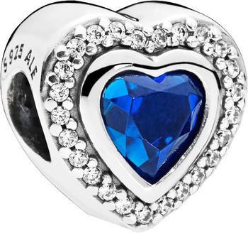 Pandora Funkelndes Blaues Herz (797608NANB)