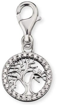 Engelsrufer Charm Lebensbaum Silber mit Zirkonia (ERC-LILTREE-ZI)