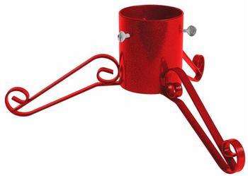 Bosmere Traditioneller Weihnachtsbaumständer 5 Zoll rot (G460)