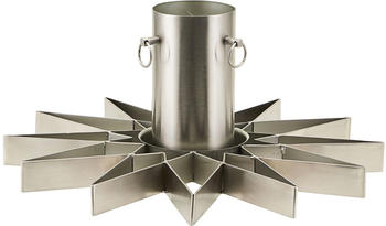 House Doctor Christmas tree stand, Star, Silver finish (Ph0081)
