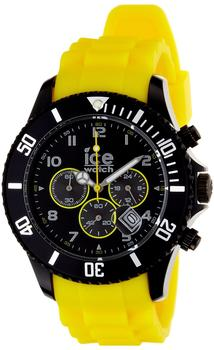Ice Watch Chrono Black sili yellow / Big (CH.BY.B.S.10)