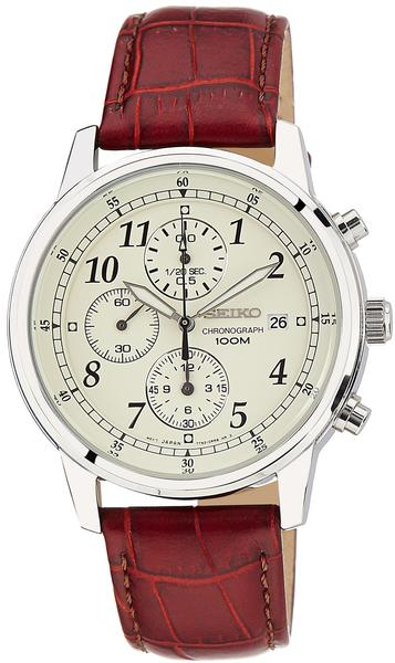 Seiko Quarz Herren-Armbanduhr Chronogrph SNDC31P1