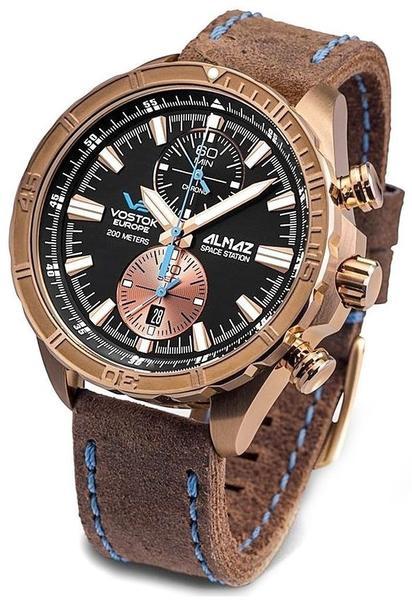 Vostok Europe Almaz Bronze chronographUhr