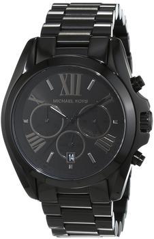 Michael Kors Herren-Armbanduhr Chronograph Quarz Edelstahl beschichtet MK5550