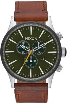Nixon The Sentry Chrono Leather (A405-2334)