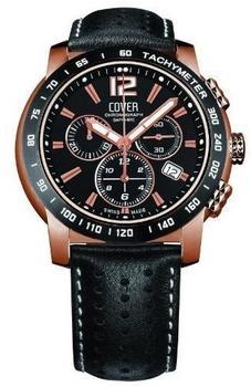Cover Herren Uhr Chronograph Co126.RPL1LBK