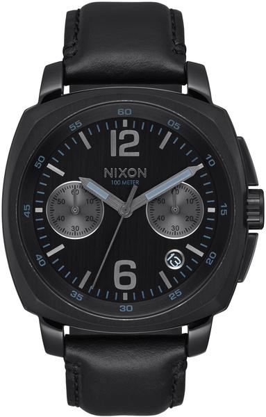 Nixon Charger Chrono Leather all black (A1073-001)