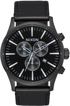 Nixon The Sentry Chrono Leather (A405-756)