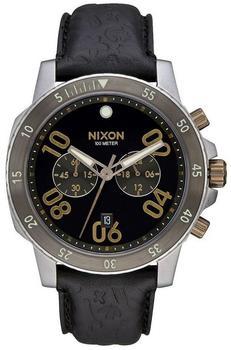 Nixon Ranger Chrono Leather A940-2222 Herrenchronograph Design Highlight