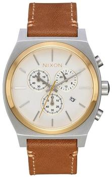 Nixon Time Teller Chrono Leather (A1164-2548)
