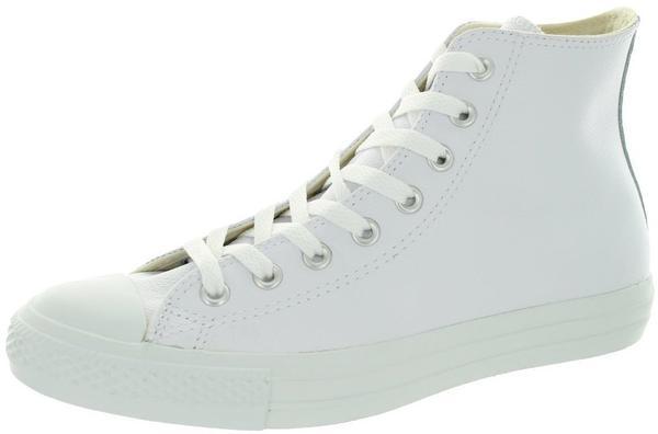 Converse Chuck Taylor All Star Leather Hi - White Monochrome 1T406