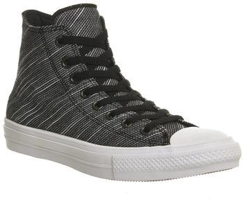 Converse Chuck Taylor All Star II Knit Hi - black/white