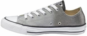 Converse Chuck Taylor All Star Ombre Metallic Ox - ash grey/black/white