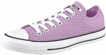 Converse Chuck Taylor All Star Canvas Woven Ox - fuchsia/black/white