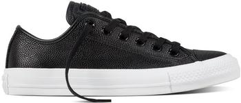 Converse Chuck Taylor All Star Tumble Pebbled leather Low black/black/white (157667C)