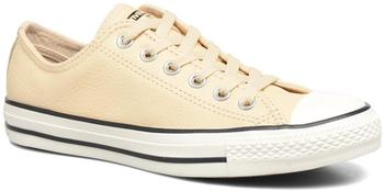 Converse Chuck Taylor All Star Tumbled Leather Ox - light twine/light twine/egret