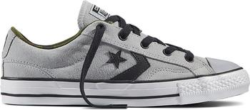 Converse Star Player Camo Suede wolf grey/black/white