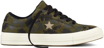 Converse One Star Nubuck Gold Camo herbal/light gold/egret