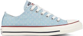 Converse Chuck Taylor All Star Perf Stars ocean bliss/garnet