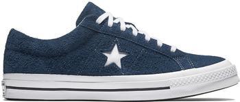 Converse One Star Premium Suede navy/white/white (158371C)
