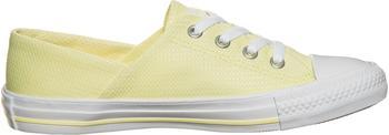 Converse Chuck Taylor All Star Coral Micro Dot Knit lemon haze/lemon haze/white