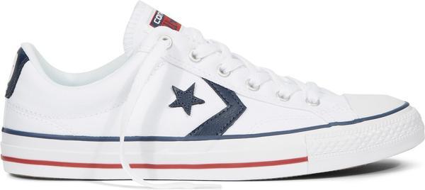 Converse Star Player Ox - white/white/navy