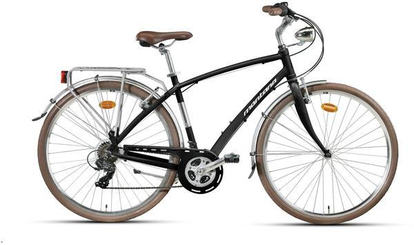Montana Bike Lunapiena 28 Zoll RH 49 cm 21-Gang Shimano TX-35 schwarz