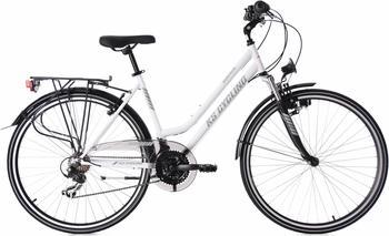 KS-CYCLING Montreal 28 Zoll RH 53 cm Damen weiß