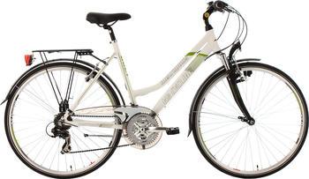 KS-CYCLING Metropolis 28 Zoll RH 53 cm Multipositionslenker Damen weiß