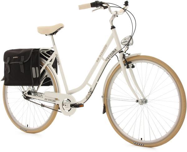 KS-CYCLING Verona 28 Zoll RH 54 cm 7-Gang Damen weiß