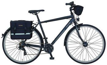 """Prophete Trekkingrad PROPHETE ENTDECKER 9.1 Trekking Bike 28"""" Herren, 21 Gang, Kettenschaltung schwarz 28 Zoll (71,12 cm)"""