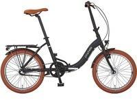 """Prophete Cityrad PROPHETE GENIESSER 1.0 City Bike 20"""", 3 Gang, Nabenschaltung schwarz 20 Zoll (50,80 cm)"""