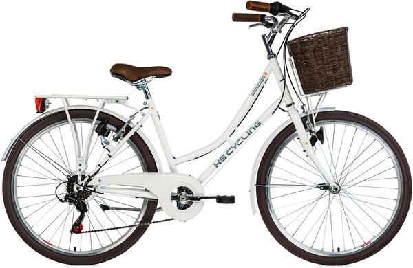 KS-CYCLING Stowage 26 Zoll RH 44 cm Damen weiß