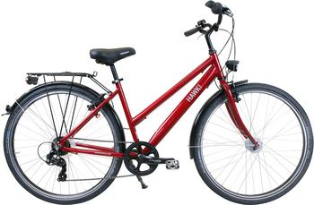 Hawk Citytrek Easy Red Lady 28 Zoll RH 46 cm Damen rot