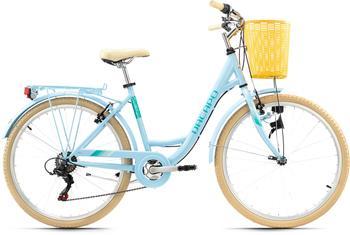 KS-CYCLING Cantaloupe 26 Zoll RH 48 cm Damen hellblau