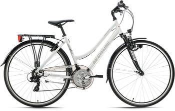 KS-CYCLING Canterbury 2020 28 Zoll RH 48 cm Damen weiß matt