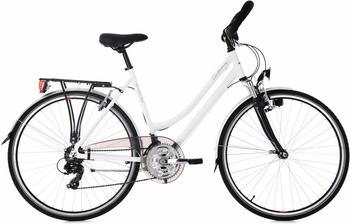 KS-CYCLING KS Cycling Trekkingrad Canterbury 21 Gang weiß Multipositionslenker