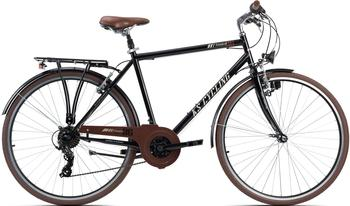 KS-CYCLING Venice 28 Zoll RH 58 cm Flachlenker schwarz