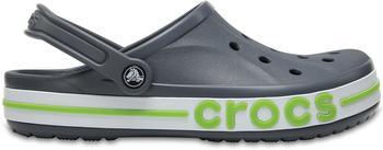 Crocs Bayaband Clogs charcoal/volt green