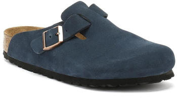 Birkenstock Boston suede leather navy