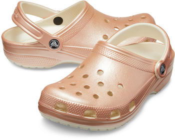 Crocs Classic Metallic Clog rose gold