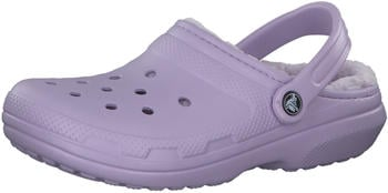 Crocs Classic Fuzz Lined Clog lavender/lavender