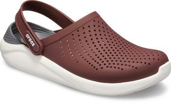 Crocs LiteRide Clog burgundy/white