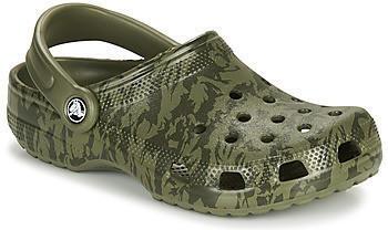 Crocs Classic Printed Camo Clog (206454) army green