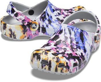 Crocs Classic Tie-Dye Mania Clog (206479) multi/light grey