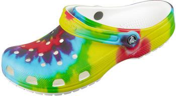 Crocs Classic Tie-Dye Graphic Clog (205453) multi