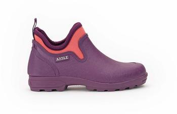 Aigle Garden Clogs Lessfor Plus purple