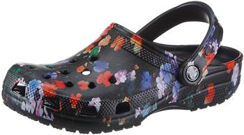 Crocs Classic Printed Floral Clog (206376) floral multi black